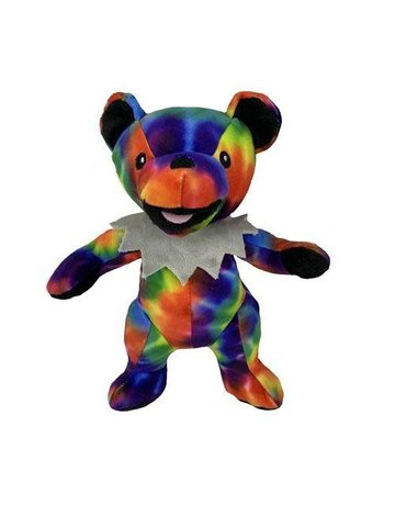 fabdog Grateful Dead Tie Dye Dancing Bear