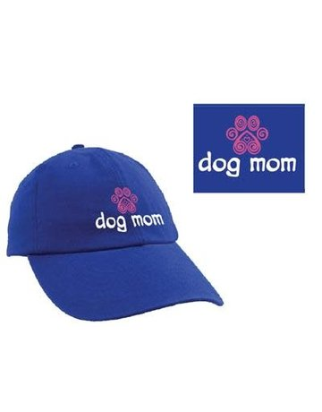 dog speak Dog Mom ball cap