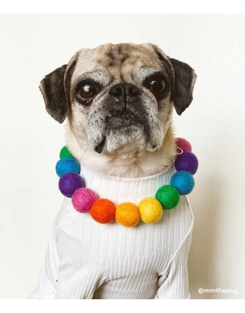 Woof and Wild Dog Garland Necklace