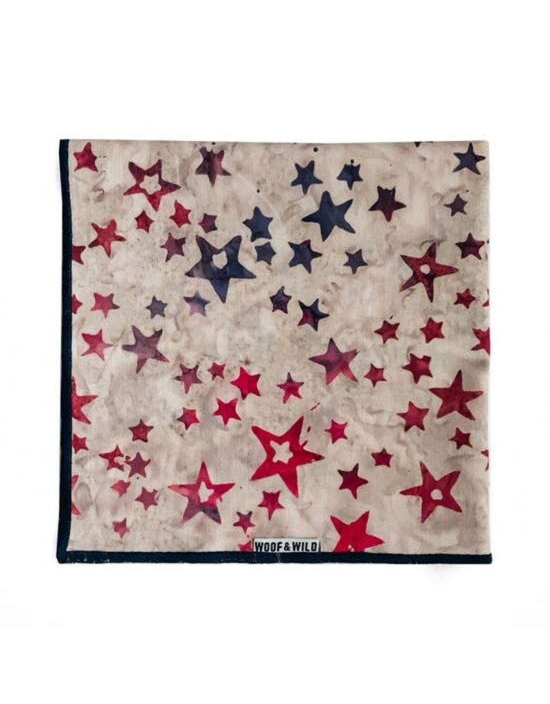 Woof and Wild Bandana - Liberty