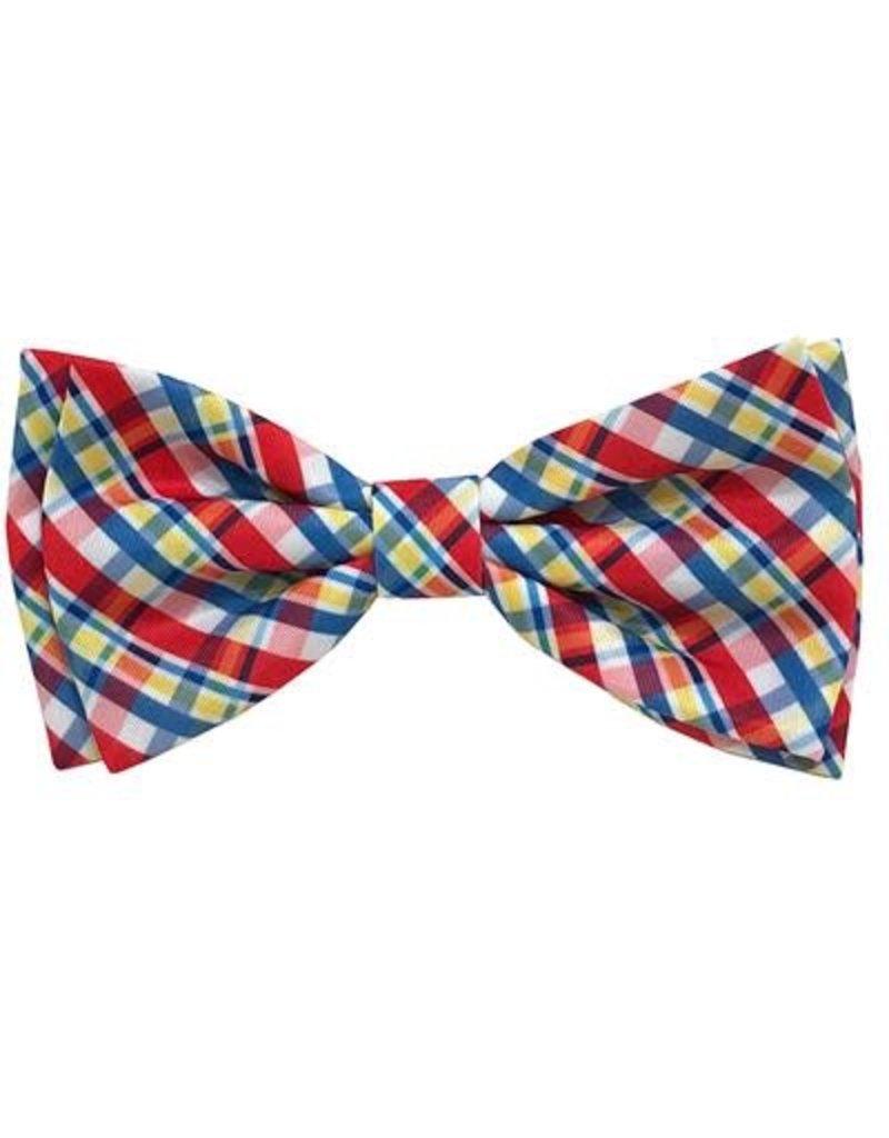 Huxley & Kent Preppy Plaid bow tie
