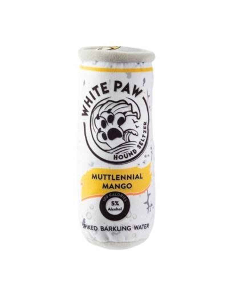 Haute Diggity Dog White Paw plush toy