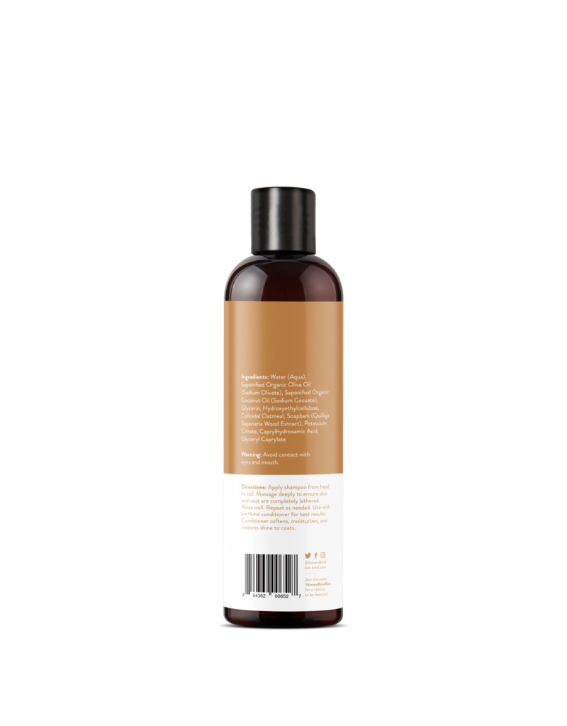 kin+kind kin+kind Sensitive Pet Natural Shampoo 12oz