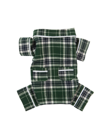 fabdog Flannel Dog PJ