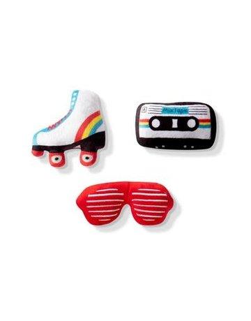 Fringe Studio Small Dog toy set: 80's Icons