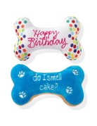 Fringe Studio Birthday Bone Cookie plush toy