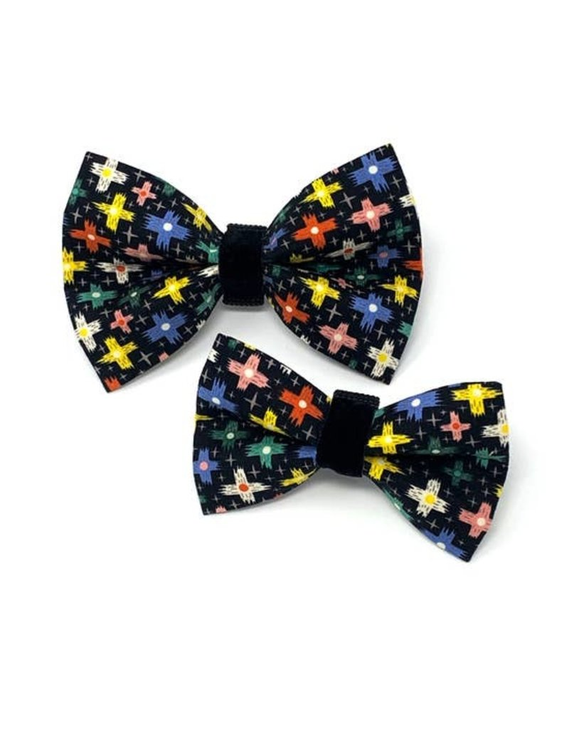 Winthrop Clothing Co. Crosshatch bow tie