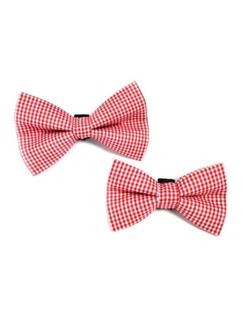 Winthrop Clothing Co. Red Gingham bow tie