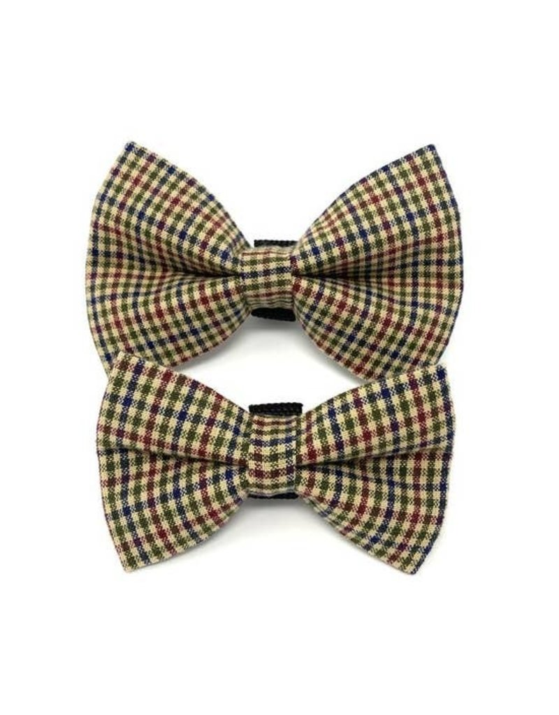 Winthrop Clothing Co. Brown Checkered bow tie