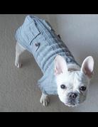 fabdog Pocket Cable Knit Turtleneck