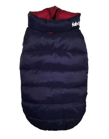 fabdog Pack-N-Go Reversible Puffer - Red / Navy