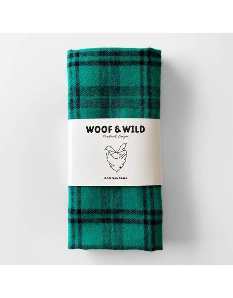 Woof and Wild Bandana - Nash large