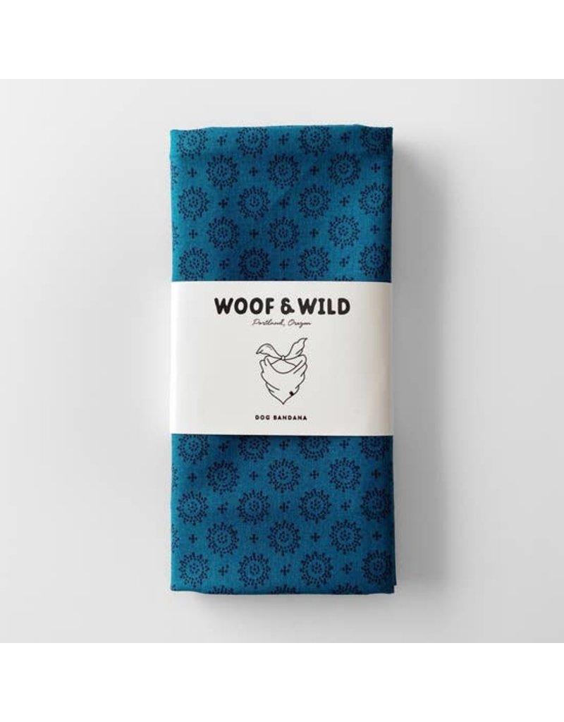 Woof and Wild Bandana - Bali large