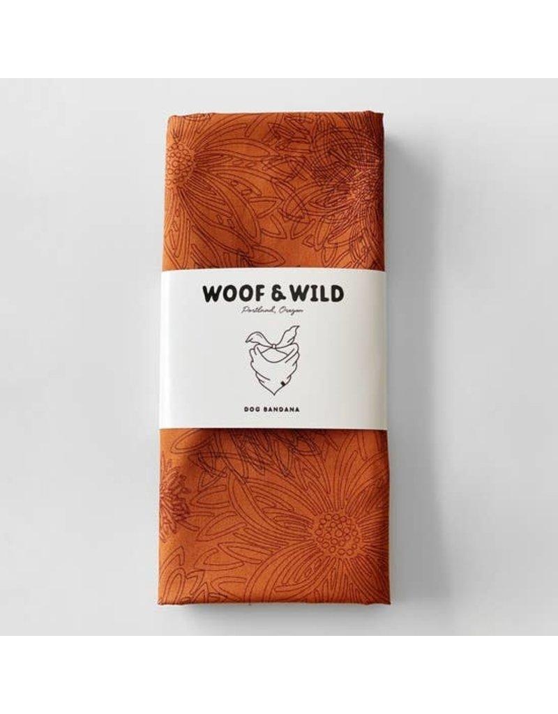 Woof and Wild Bandana - Sienna