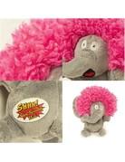 Go Dog HEAR DOGGY! Silent Squeak Crazy Hairs Elephant