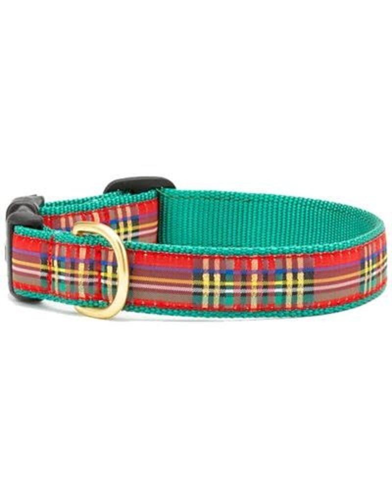 Up Country Christmas Sparkle Plaid collar