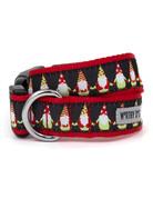 The Worthy Dog Christmas Gnomes collar