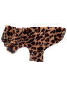 The Worthy Dog Faux Fur Coat - Leopard