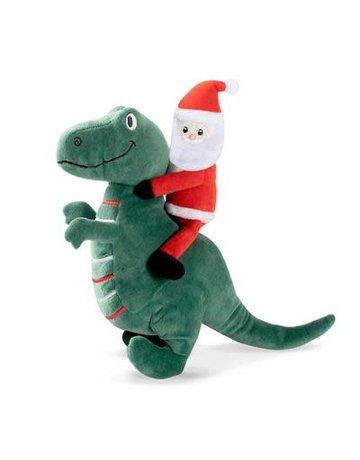 Fringe Studio Santa Saurus Rex plush toy
