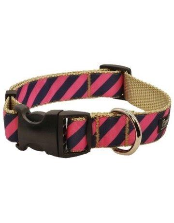 Paw Paws USA Prepster Rip Tie - Pink Polo