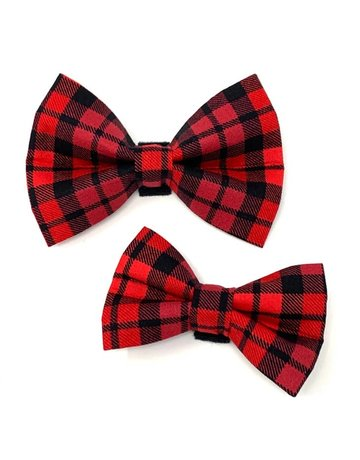 Winthrop Clothing Co. Buffalo Plaid bow tie
