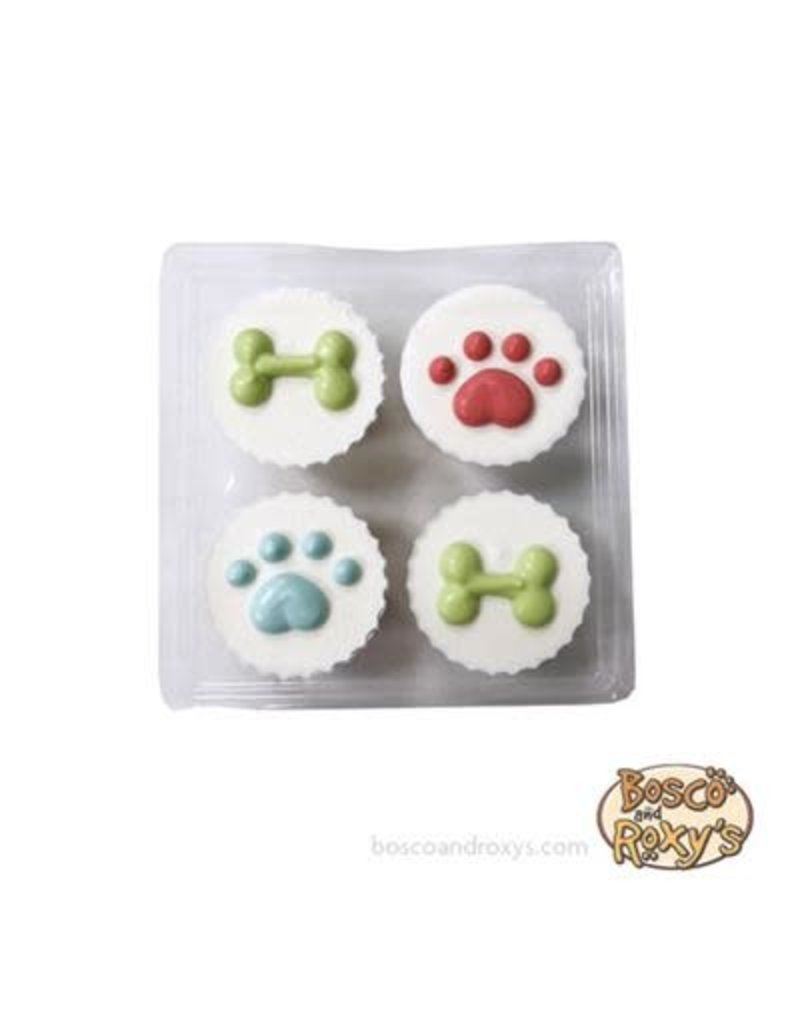 Bosco & Roxy's Birthday Peanut Butter Treat Cups - 4pc