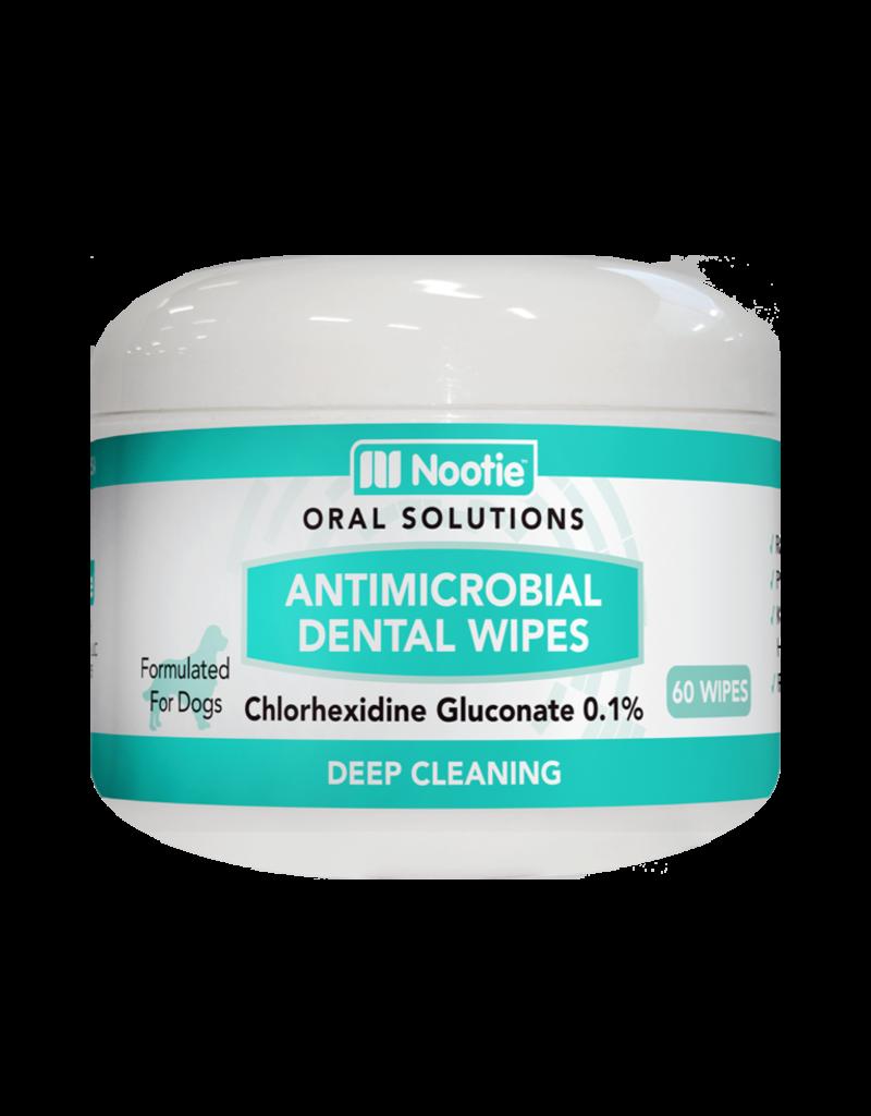 Nootie Antimicrobial Dental Wipes - 60 wipes