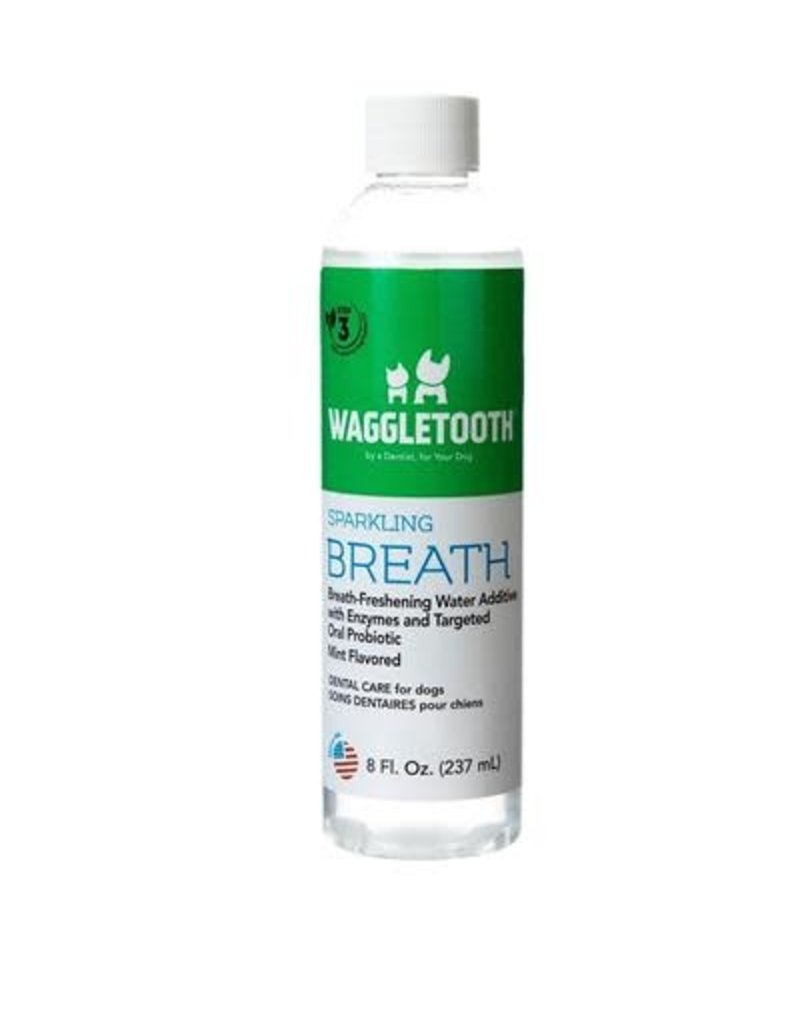 Waggletooth Waggletooth Probiotic Sparkling Breath, 8oz