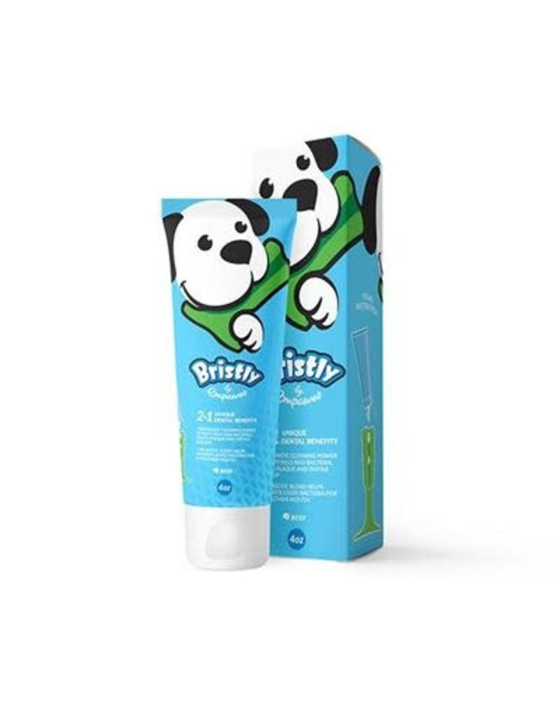 Bristly Bristly Toothpaste - beef flavor