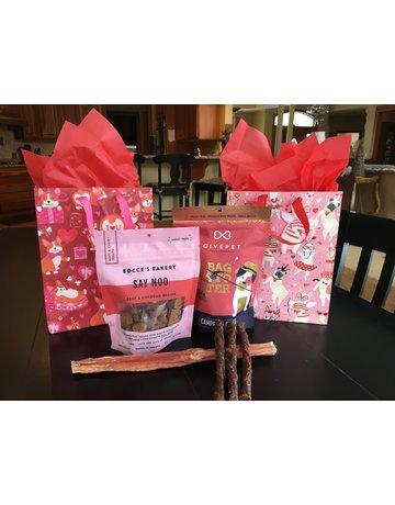 Valentine Gift Bag - dog