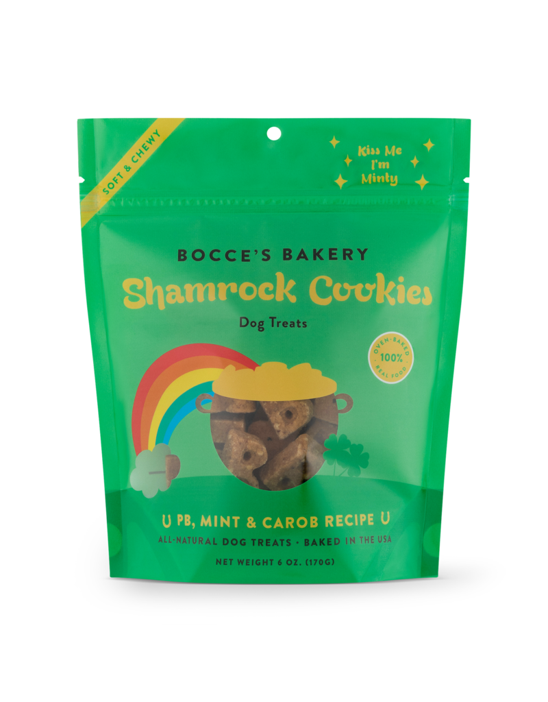 Bocce's Bakery Bocce's Bakery Soft & Chewy: Shamrock Cookies