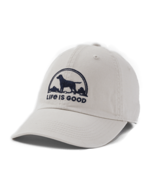 Life Is Good Life Is Good embroidered cap - bone