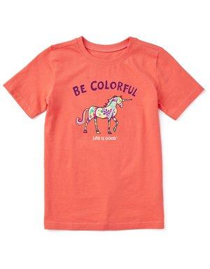 Life Is Good KIDS LIG Be Colorful t-shirt - mango