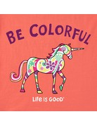 Life Is Good KIDS LIG Be Colorful t-shirt - mango