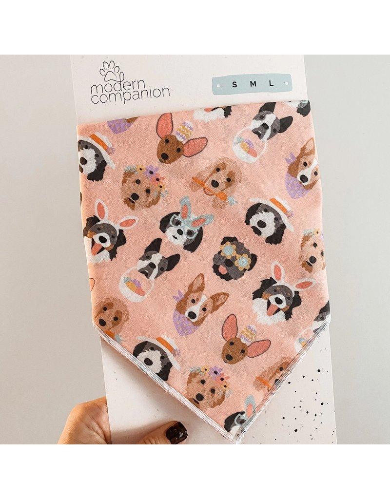 Modern Companion Bandana - Easter Pups