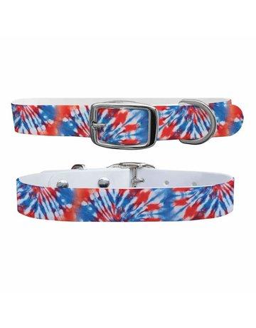 C4 Belts C4 Americana Tie Dye collar
