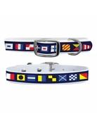 C4 Belts C4 Nautical Flags collar