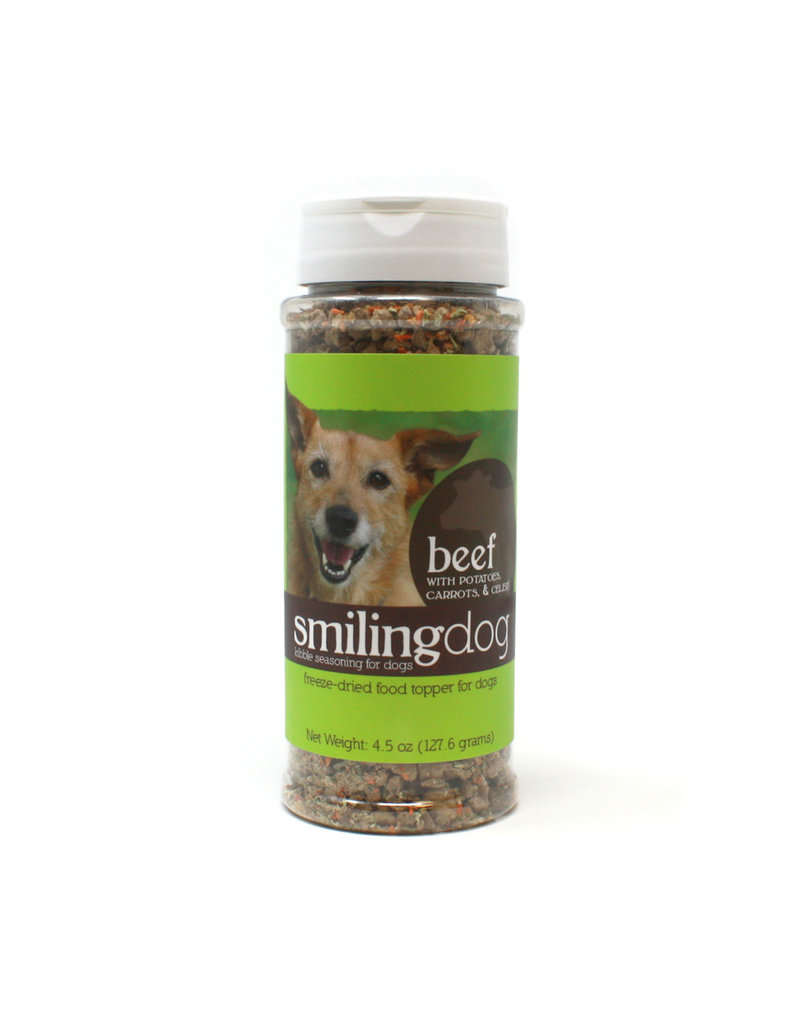 Herbsmith Smiling Dog Food Topper Beef  4.5oz