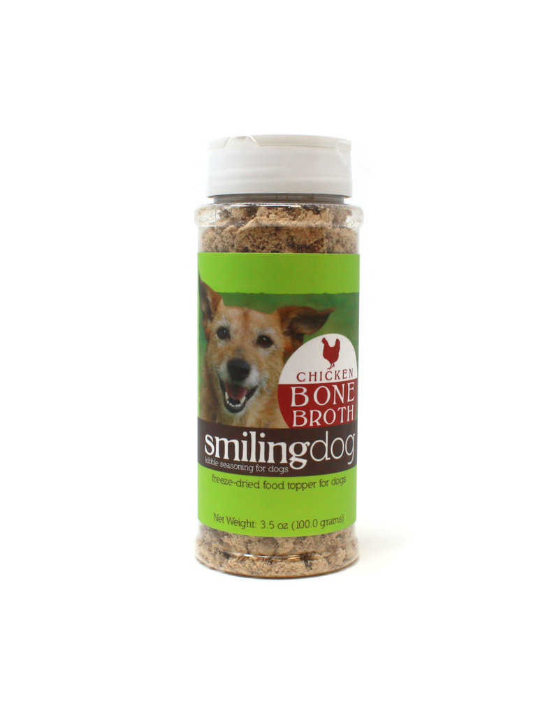 Herbsmith Smiling Dog Food Topper Chicken Bone Broth 3.5oz