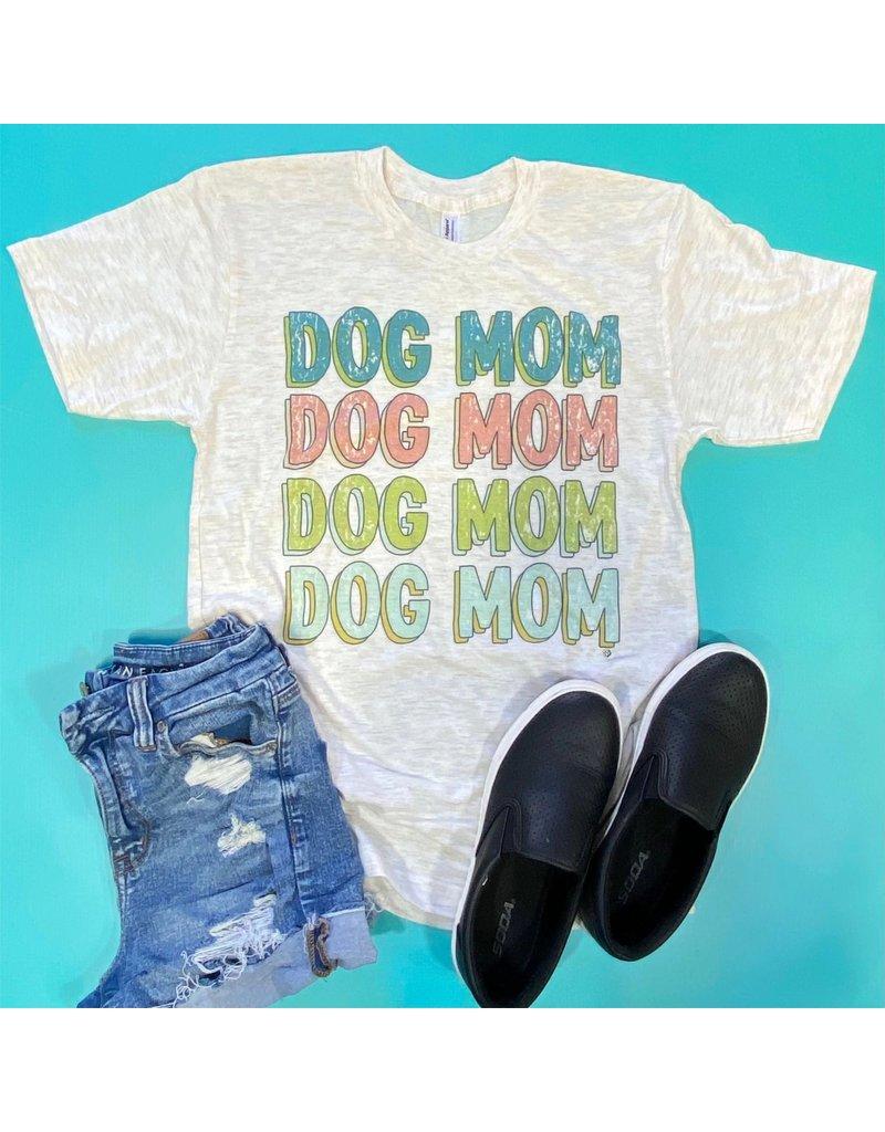 The Dapper Paw Vintage Dog Mom t-shirt