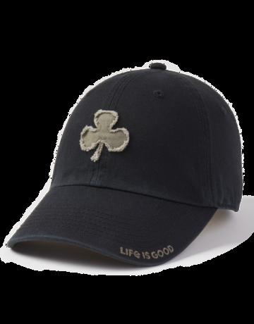 Life Is Good LIG Shamrock Twill Tattered cap - black