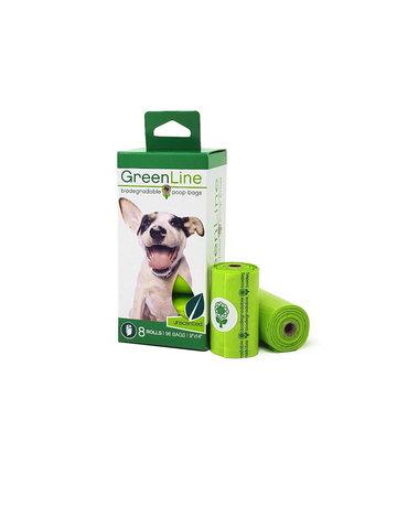 GreenLine GreenLine Biodegradable Poop Bags - 8 rolls