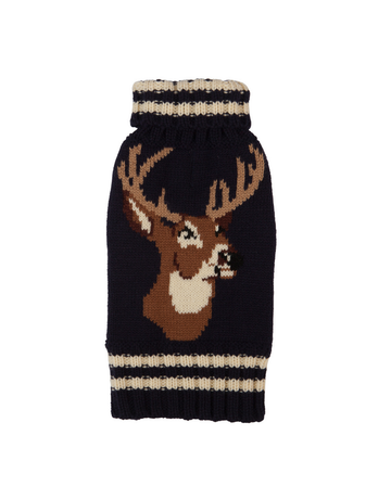 fabdog Navy Stag  sweater