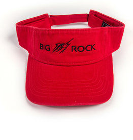 Big Rock Horizontal Streak Twill Canvas Visor