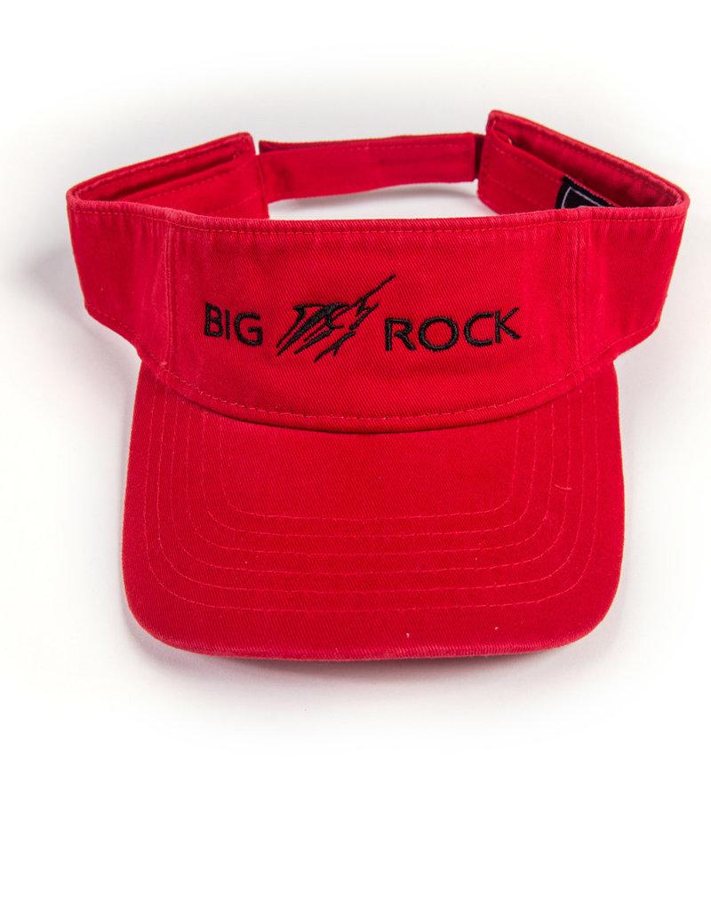 Big Rock Horizontal Streak Twill Canvas Visor