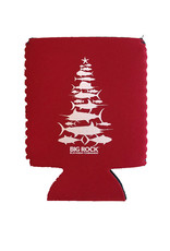 Red Fish Tree Koozies