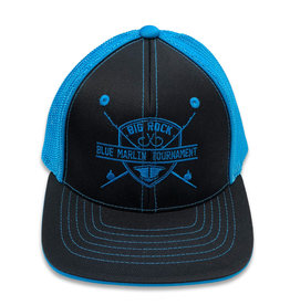 Youth Flexfit Rod & Shield Trucker Mesh Hat, XS