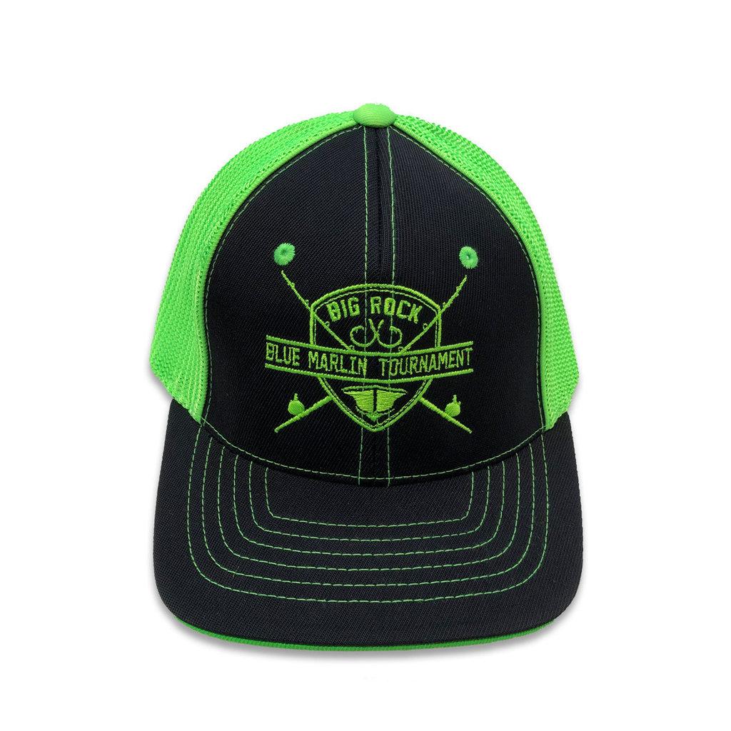 Youth Flexfit Rod & Shield Trucker Mesh Hat, XS