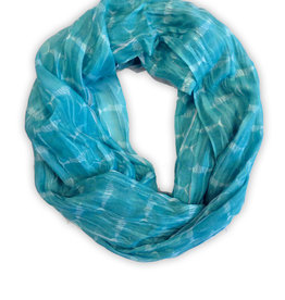 Ladies Marlin Aqua Infinity Scarf