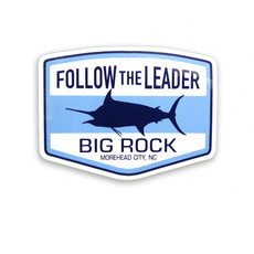 Big Rock Follow the Leader Die Cut Sticker
